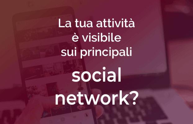 Le pagine social
